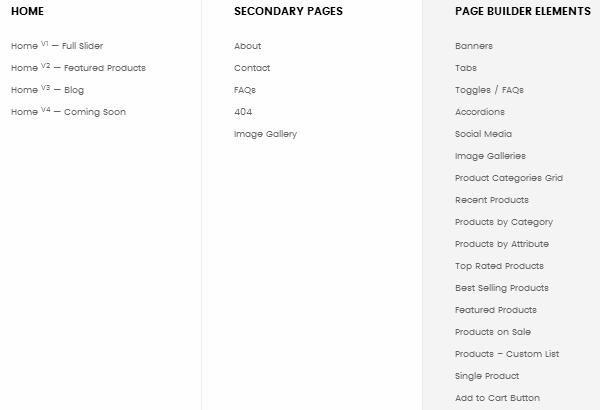 Merchandiser Homepage Styles
