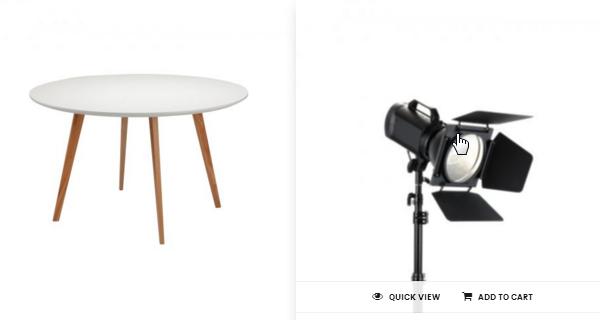 Merchandiser Product Zoom Hover