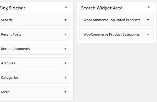 Merchandiser Search Widgets