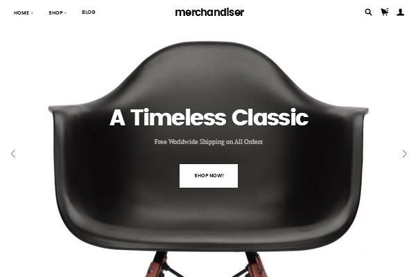 Merchandiser Theme Design