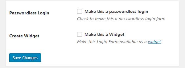 ProfilePress - Passwordless Login Form
