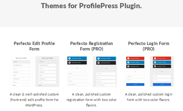 ProfilePress - Premium Themes