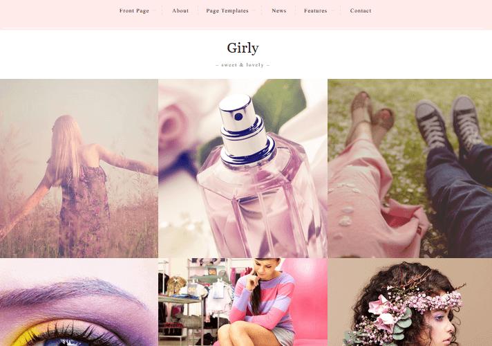 girly-feminine-wordpress-theme