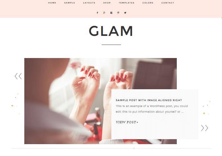 glam-feminine-wordpress-theme