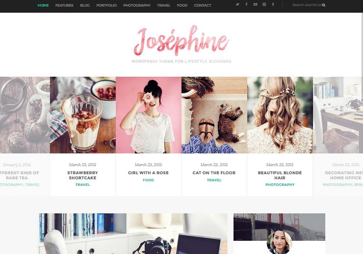josephine-feminine-wordpress-theme