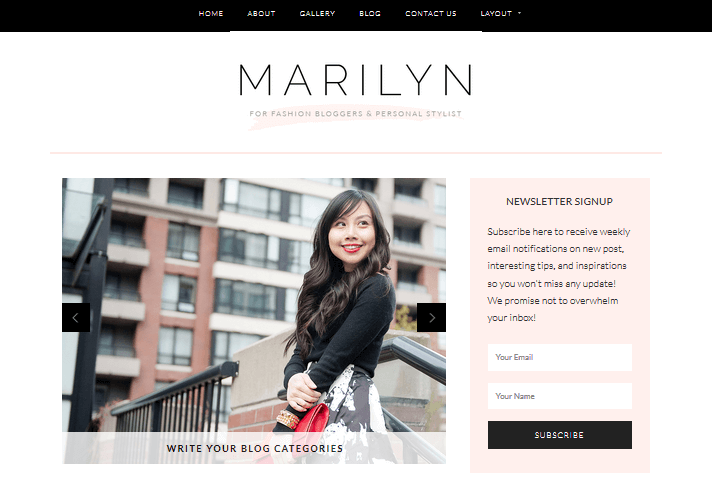 marilyn-feminine-wordpress-theme