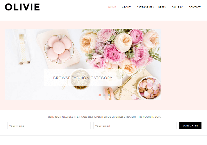 olivie-feminine-wordpress-theme