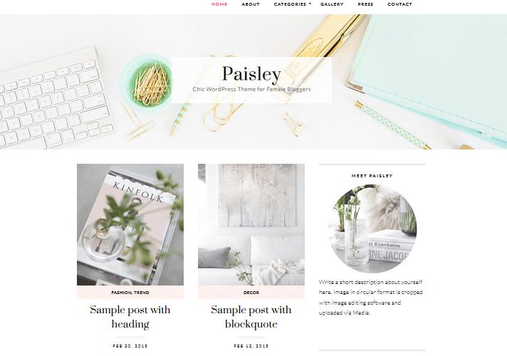 paisley-feminine-wordpress-theme