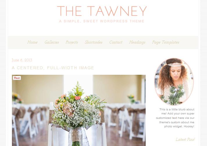 tawney-feminine-wordpress-theme