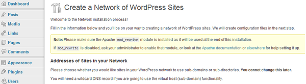 create-a-network-subdomains-and-directories
