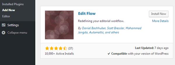 Install Edit Flow
