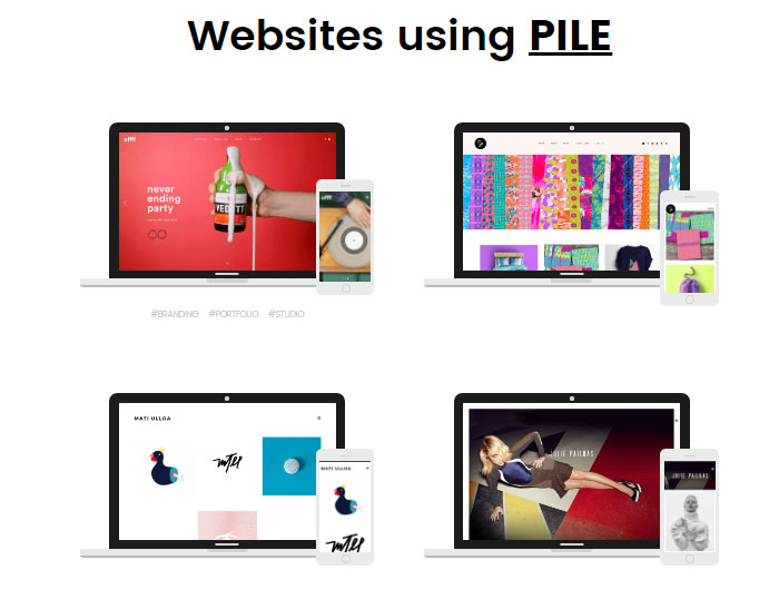 PILE Review Sites Using PILE