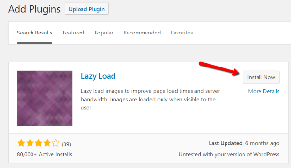 How to lazy load WordPress images