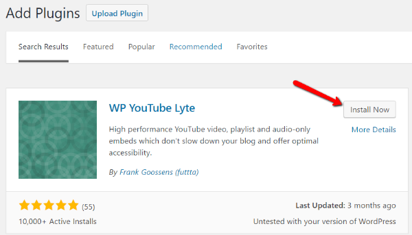 How to lazy load WordPress YouTube videos