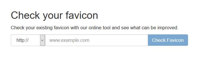 Check Your Favicon