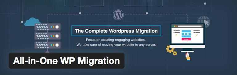 All-in-One WordPress migration plugin
