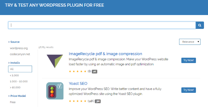 how to test wordpress plugins