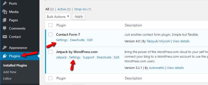 how to configure wordpress plugin