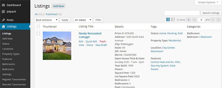 impress listings plugin
