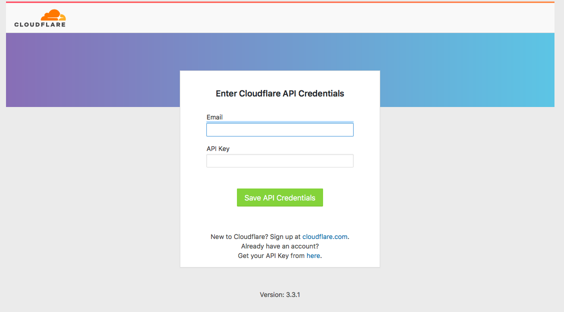 cloudflare plugin login