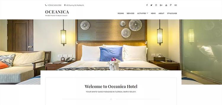 oceanica theme