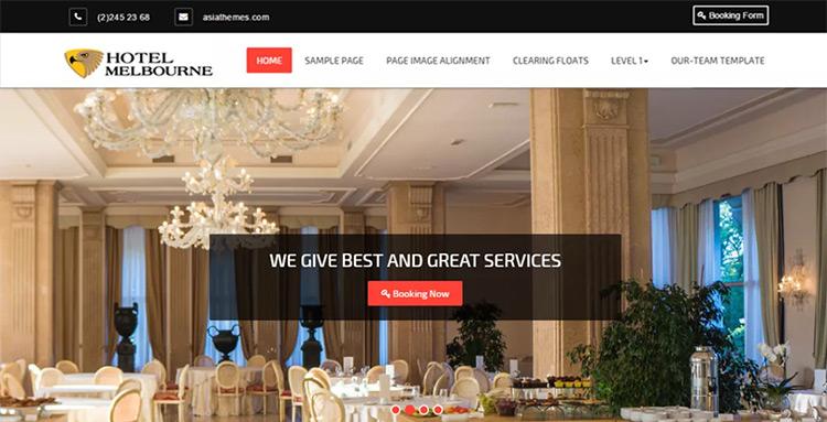 hotel melbourne theme