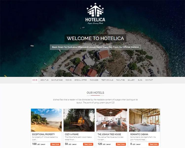 hotelica theme