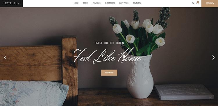 hotel lux wordpress