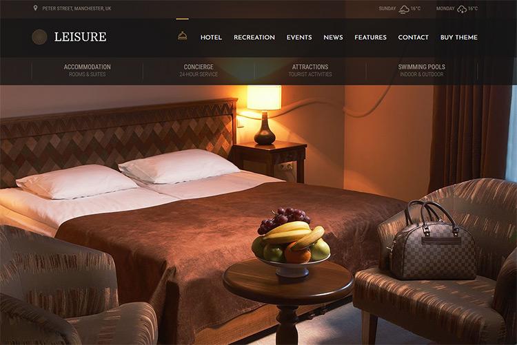 hotel leisure theme