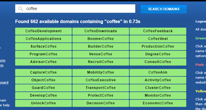 lean domain search results