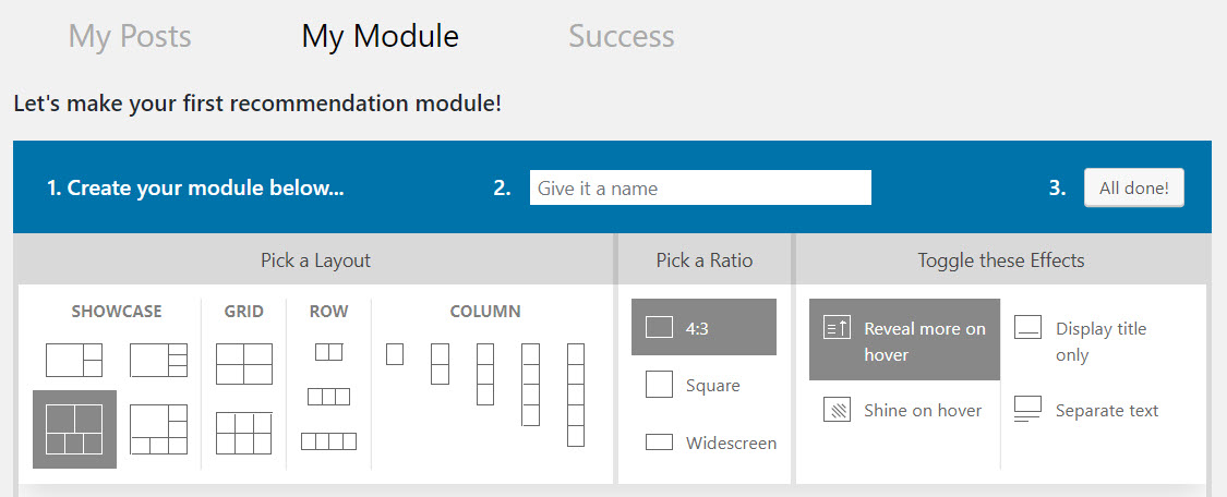 Creating Modules