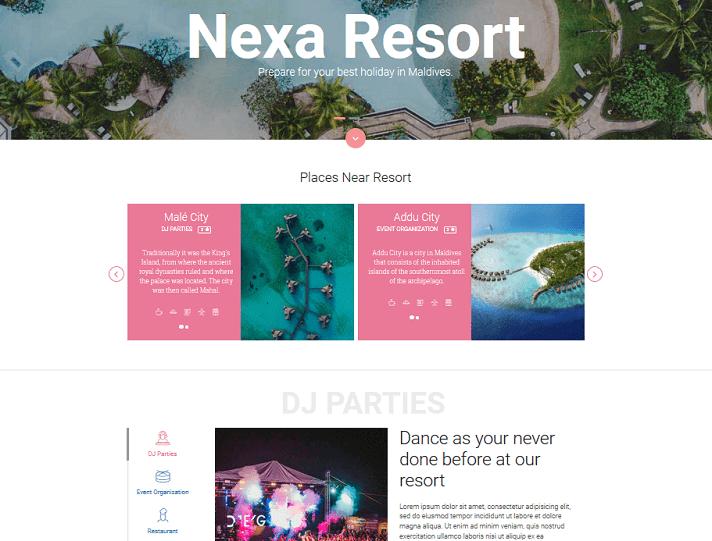 nexa joy - resort and hotel