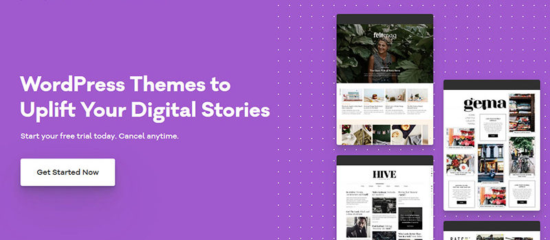 pixelgrade homepage
