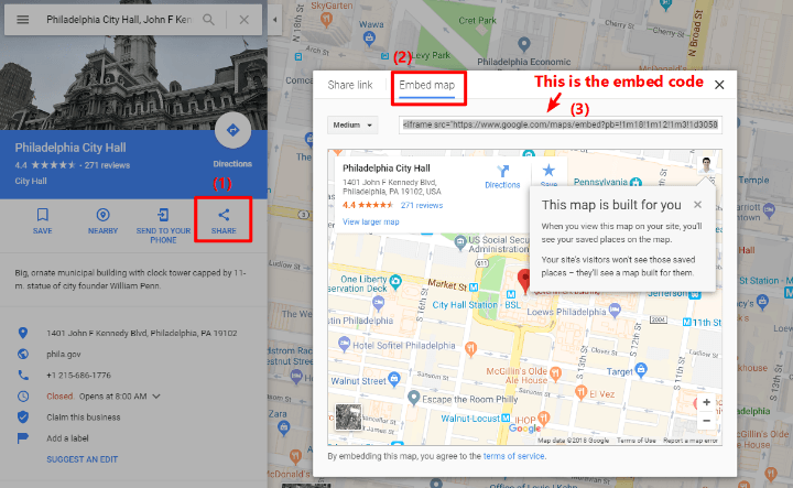 how to embed google maps in wordpress using the regular interface
