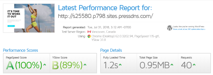 pagely performance data