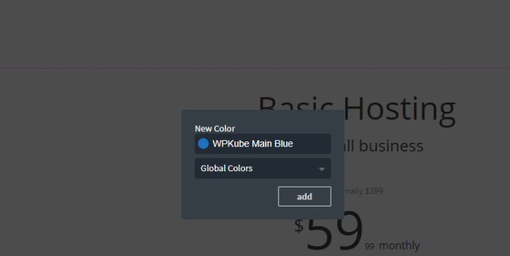 name color