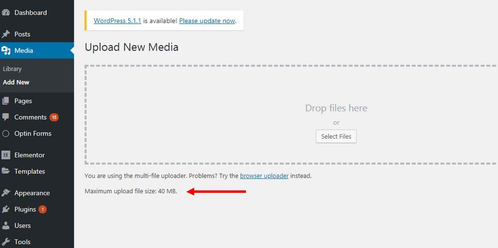 wordpress-upload-limit 2