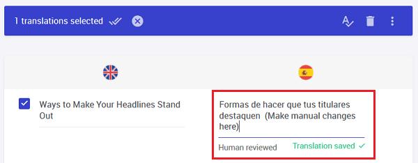 translations list manual edit