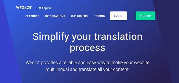 weglot translation plugin for wordpress