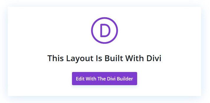 divi builder editor