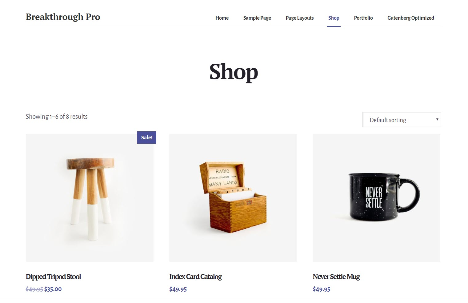 Breakthrough Pro -WooCommerce WordPress themes