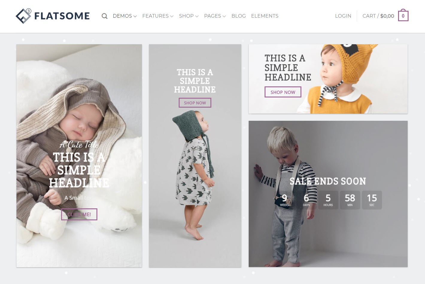Flatsome - WooCommerce WordPress themes