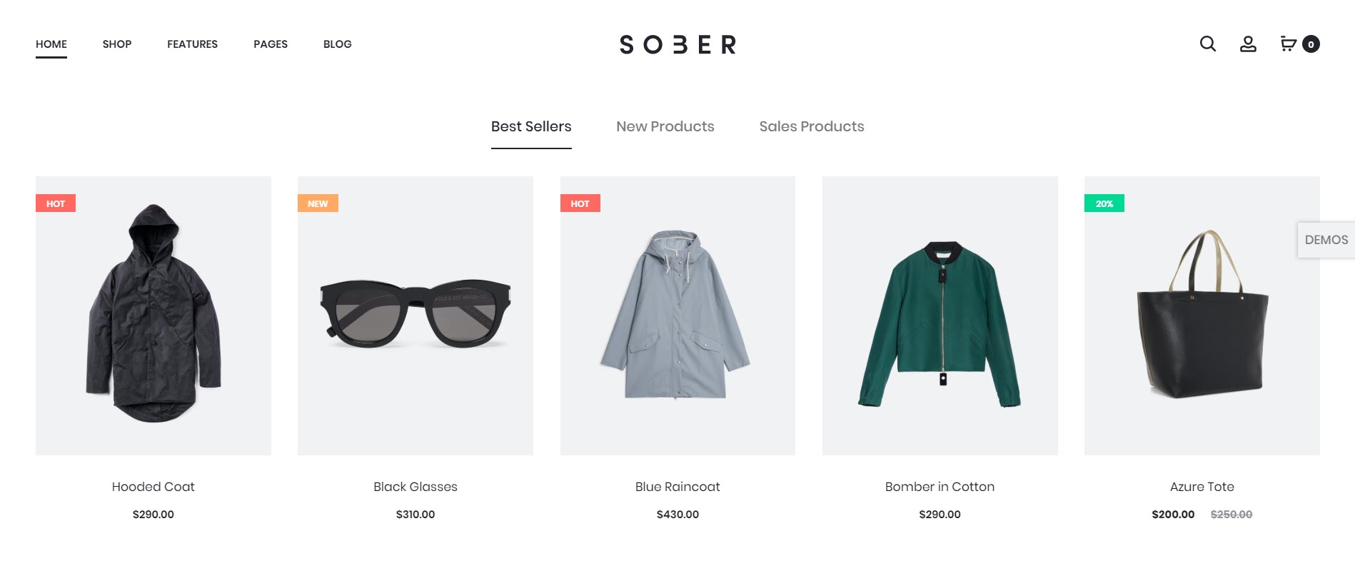 Sober - WooCommerce WordPress themes