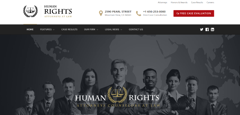 humanrights wordpress theme