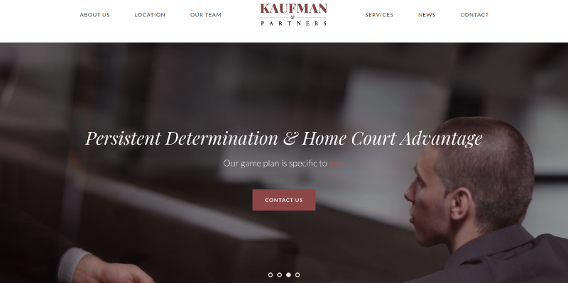 kaufman lawyer theme