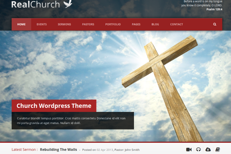 real church theme
