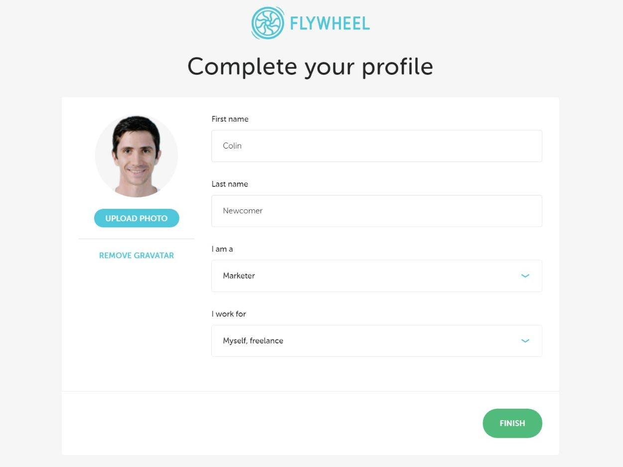 Flywheel profile information