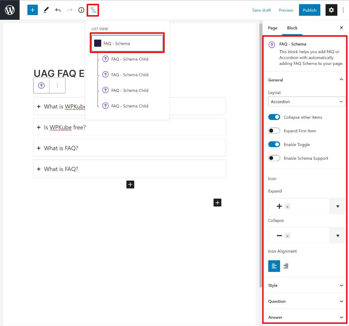 Style FAQ