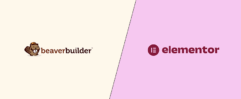 Beaver Builder vs Elementor pro WordPress plugin comparison