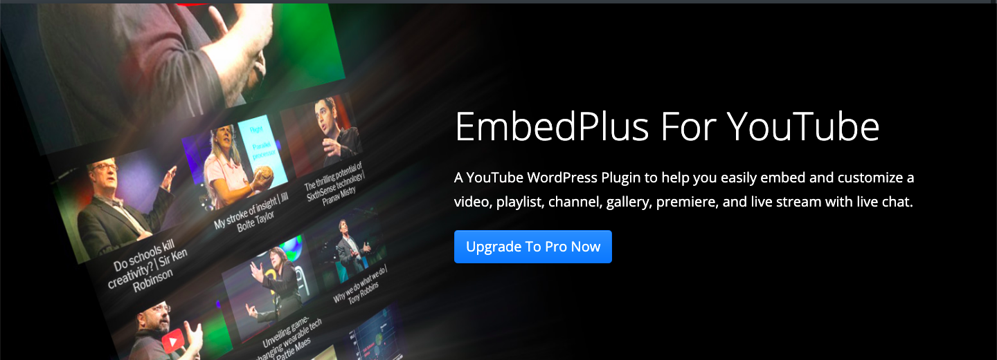 EmbedPlus for YouTube